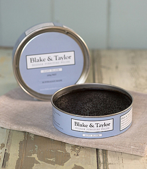 chalk paint furniture beeswax