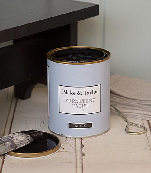 Blake and Taylor black chalk paint