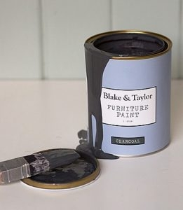 Blake and Taylor charcoal chalk paint