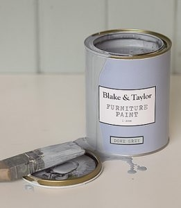 Blake and Taylor dove grey chalk paint