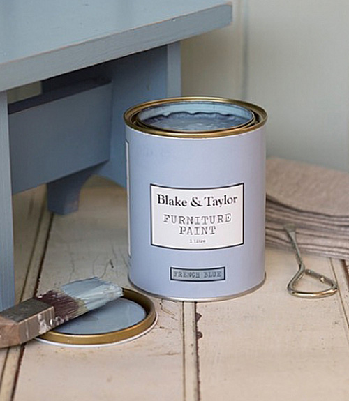 Blake and Taylor French blue chalk paint
