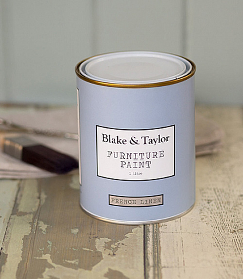 Blake and Taylor French linen chalk paint