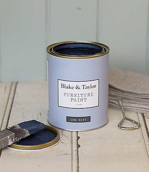 Blake and Taylor navy chalk paint