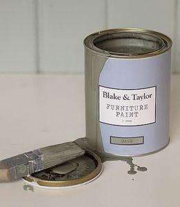 Blake and Taylor sage chalk paint