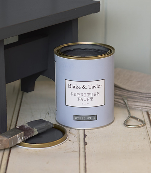 Blake and Taylor steel grey chalk paint
