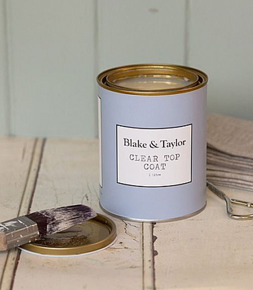 Blake and Taylor clear top coat for chalk paint