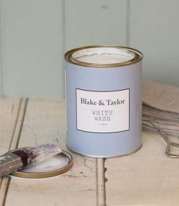 Blake and Taylor white wash chalk paint