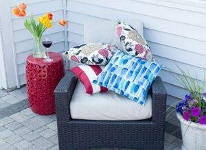 custom made all weather cushions