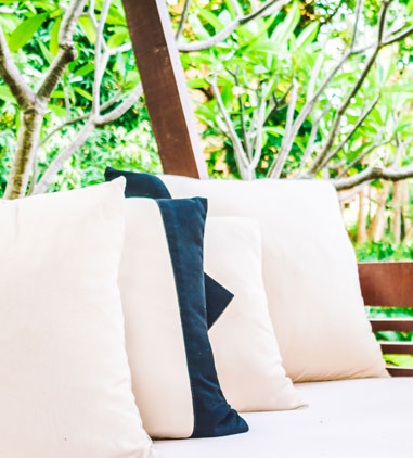 custom made outside cushions