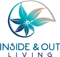 inside and out living logo