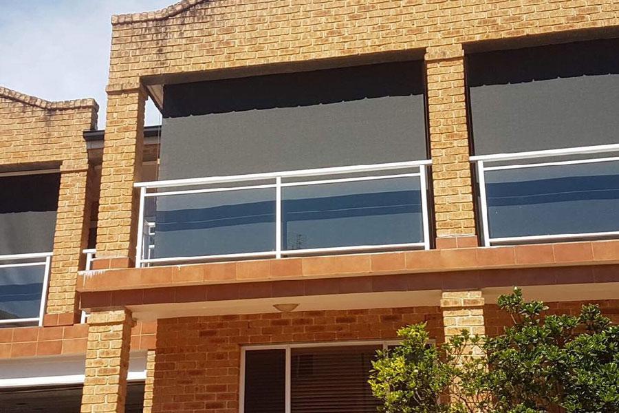 basix compliant outdoor blind installation sydney