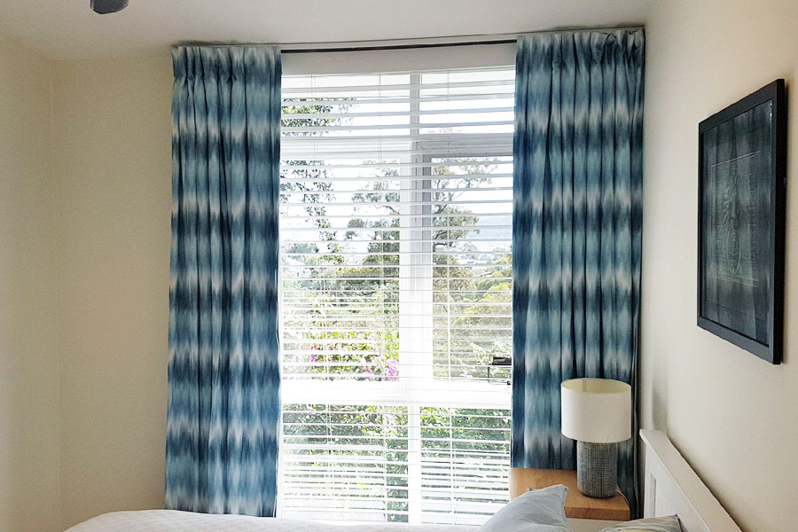 northern beaches custom block out curtains installation