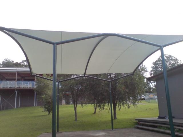 custom made awning mooney mooney club